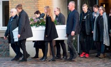النرويج: قراءة رسائل تعازي من المغاربة في مراسيم تشييع جنازة مارين أولاند إحدى ضحيتي جريمة القتل في إمليل