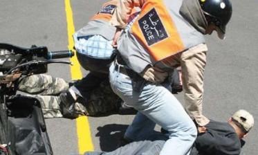 إطلاق الرصاص بالبيضاء لإيقاف 3 حاملين  لأسلحة بيضاء