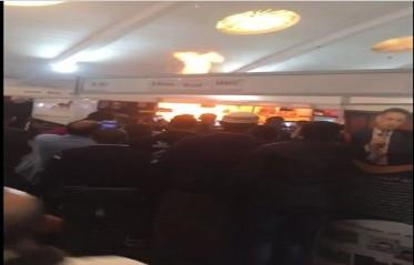 حريق في أحد أروقة المعرض الدولي للكتاب...وزارة الثقافة توضح