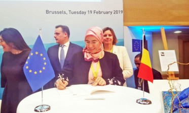 """المغرب يوقع """"إعلان بروكسيل"""" بشأن التغير المناخي والحفاظ على المحيطات"""