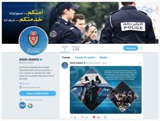 """المديرية العامة للأمن الوطني تعلن عن إنشاء حساب رسمي على موقع التواصل الاجتماعي """" تويتر"""""""