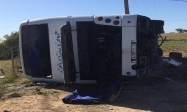 وفاة امرأة وإصابة 26 آخرين في انقلاب حافلة للمسافرين بالجديدة