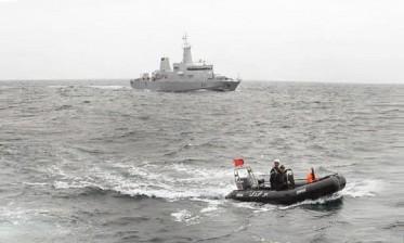 البحرية الملكية تقدم المساعدة لقارب صيد عانى صعوبات بعرض ساحل الجديدة