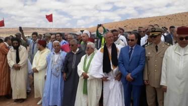 زيارة زاوية الشيخ المقاوم محمد لغضف ماء العينين تفتتح فعاليات موسم طانطان في دورته 15