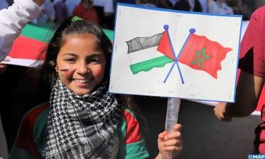 مسيرة وطنية بالرباط نصرة للقضية الفلسطينية