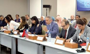 اجتماع اللجنة المشتركة لمتابعة تنفيذ اتفاقية التبادل الحر بين المغرب والولايات المتحدة الأمريكية بالرباط