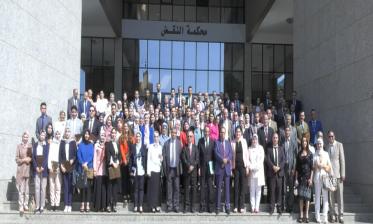 26 محافظا قضائيا و18 مهندسا يؤدون اليمين القانونية أمام الرئيس المنتدب للمجلس الأعلى للسلطة القضائية