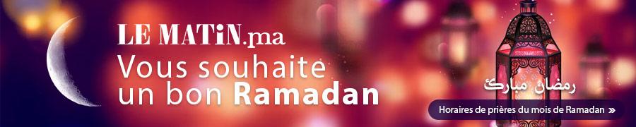 LEMATIN Vous souhaite un bon Ramadan