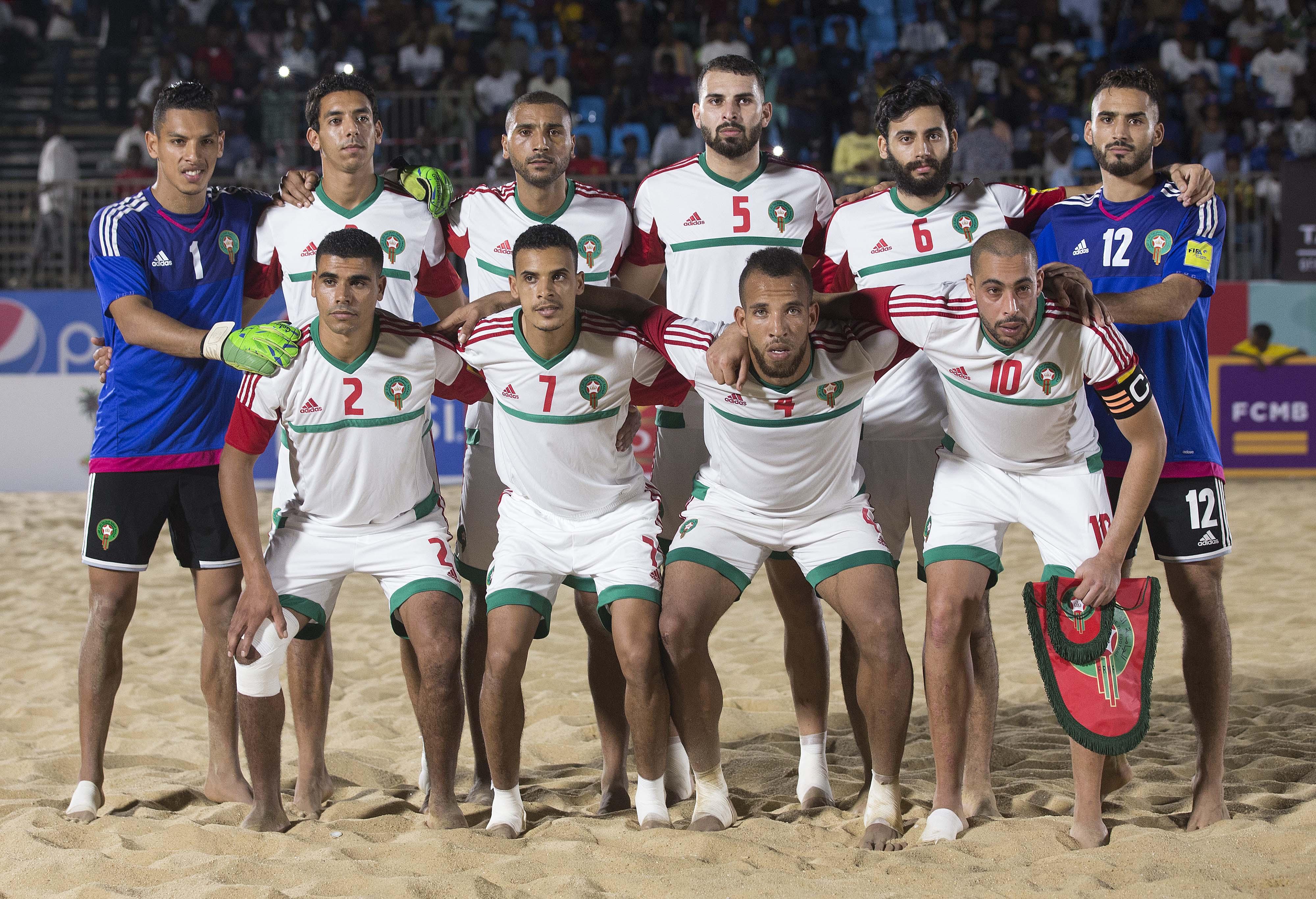 المنتخب المغربي لكرة القدم الشاطئية يفوز على منتخب لبنان