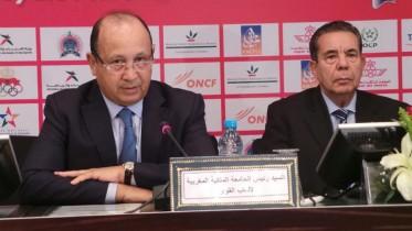 عبد السلام أحيزون رئيس الجامعة الملكية المغربية لألعاب القوى