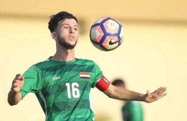 العاني بقميص المنتخب العراقي