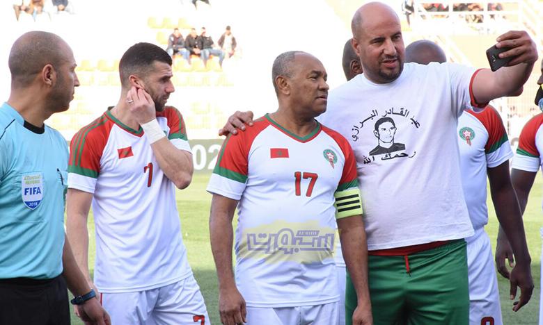 المباراة التكريمية للراحل عبد القادر لبرازي بعدسة عيسى السوري