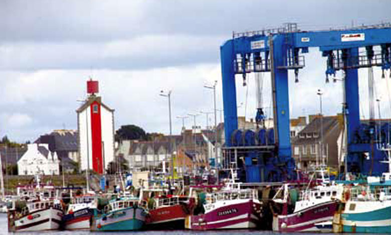 Le salon Itechmer réunit, tous les deux ans, à Lorient, les professionnels de la pêche, des produits  de la mer et de la conception navale.