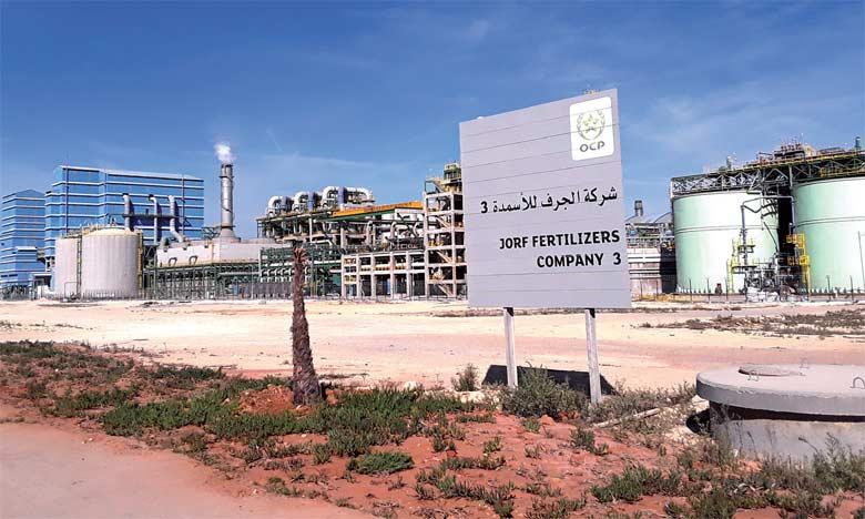 La construction de Jorf Fertilizers Company 3 a mobilisé près de 1,3 million «Jours Hommes»  et un investissement de près de 5,2 milliards de DH.