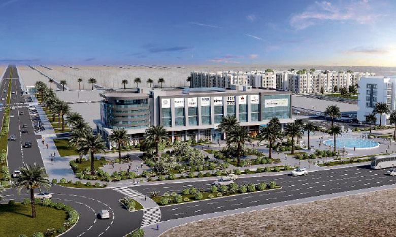 La nouvelle plateforme abritera les nouveaux abattoirs qui figurent parmi les plus modernes au Maroc en matière  de sécurité et d'hygiène.