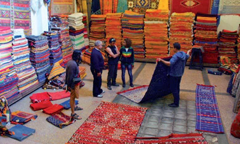 Produit prestigieux, le tapis marocain reflète, dans sa globalité, l'héritage de toute  une nation.