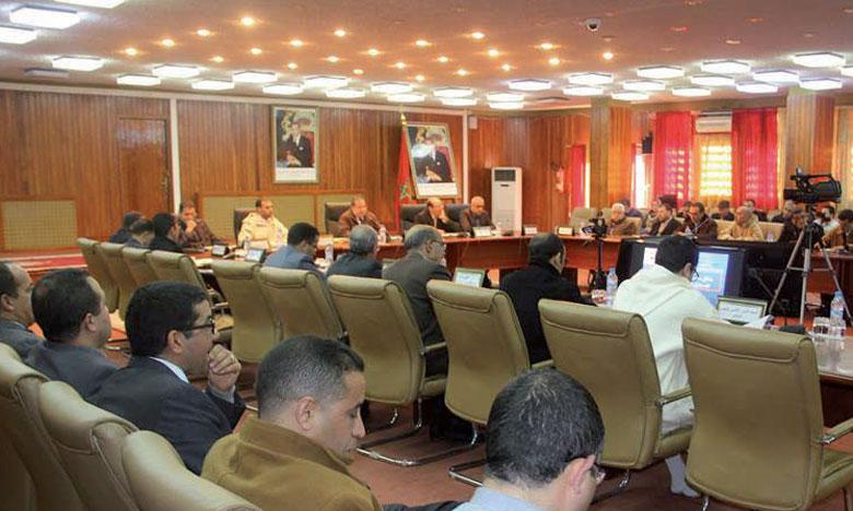 La réunion s'est déroulée au siège de la province de Khénifra.