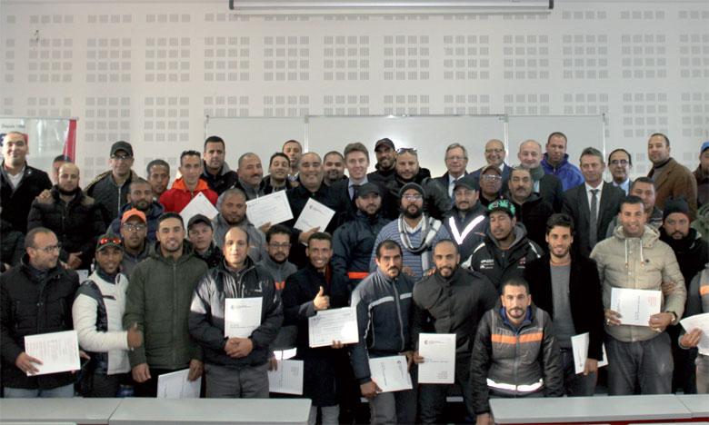 La cérémonie de remise des certificats s'est déroulée au CEFOR Entreprises, Centre de formation continue de la CFCIM.