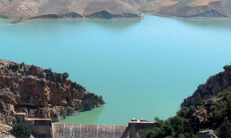 Barrage El Kansera sur oued Sebou.