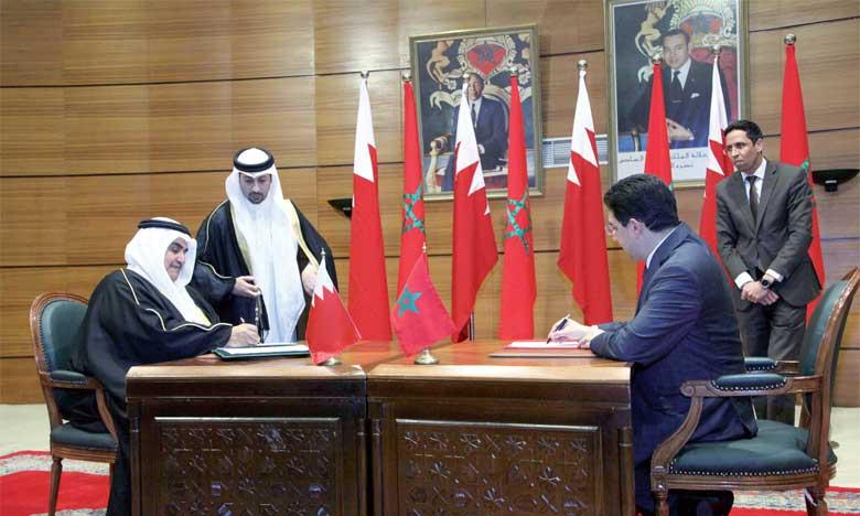 Les travaux de la 4e session de la Haute Commission mixte Maroc-Bahreïn donnent une nouvelle impulsion au partenariat entre Rabat et Manama