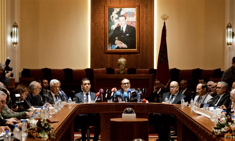 Pour M. El Malki, l'augmentation de l'assiduité des députés est la conséquences de l'application  rigoureuse des dispositions du règlement intérieur.