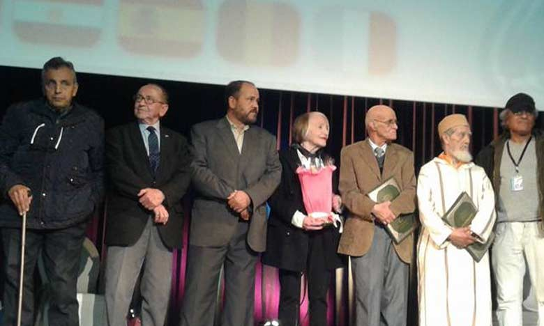 Un vibrant hommage a été rendu à Baker Lemseffer, Mohammed Ben Jeddi, Abdelkrim Tarda et Brahim Hachoumi.