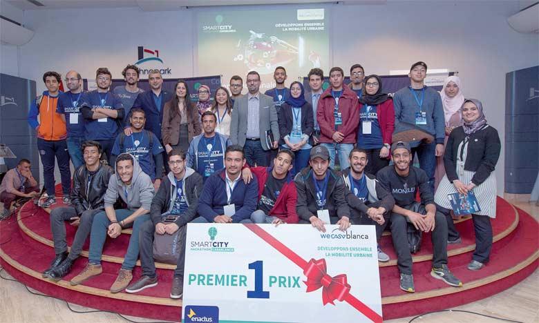Pour cette troisième édition, le Smart City Hackathon a reçu 450 candidatures et 76 projets, dont 22 ont pris part à la compétition.