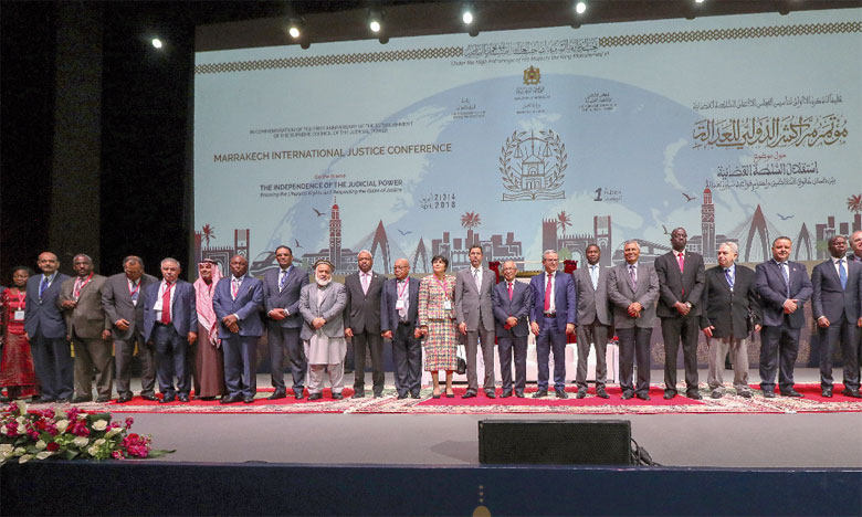 Les participants adoptent la déclaration de Marrakech