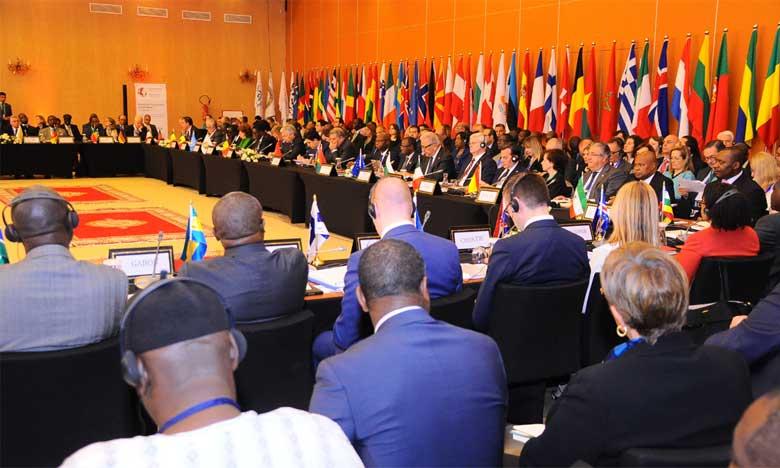 27 pays africains, 31 pays européens et deux organisations partenaires, la Commission européenne et la Cédéao, ont participé à la cinquième Conférence ministérielle euro-africaine sur la migration et le développement. Ph. MAP