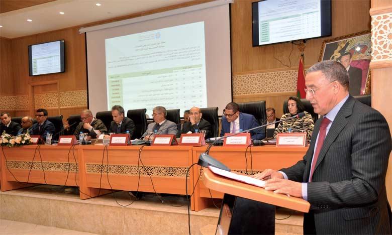 Selon Ahmed Akhchichene, le financement du PDR reste le plus grand défi pour ériger la région en tant qu'acteur essentiel dans le développement régional.                       Ph archives