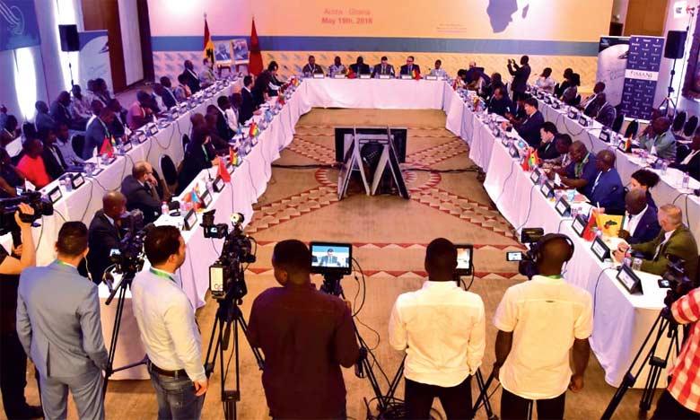 la conférence d'Accra a été une occasion propice pour écouter les perceptions et les analyses ghanéennes concernant l'adhésion marocaine.