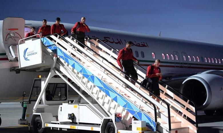 Pour la  sélection nationale, envoyée dans le groupe B avec le Portugal et l'Espagne, la Coupe du monde en Russie débutera par une opposition face à l'Iran. Ph : FRMF