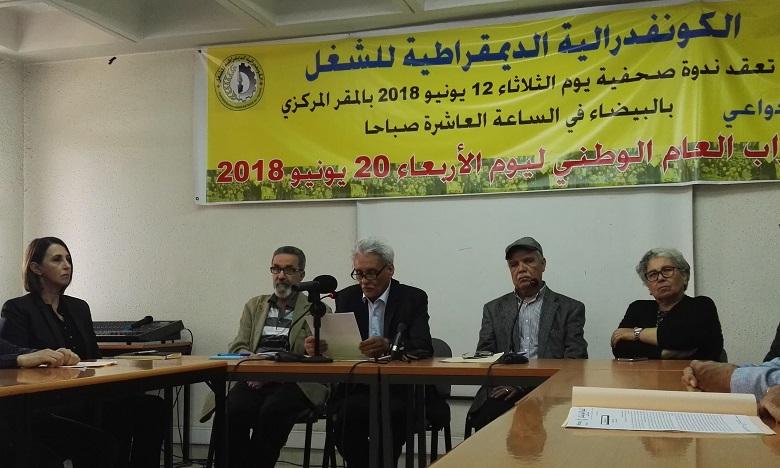 La CDT annonce une grève générale pour le 20 juin prochain
