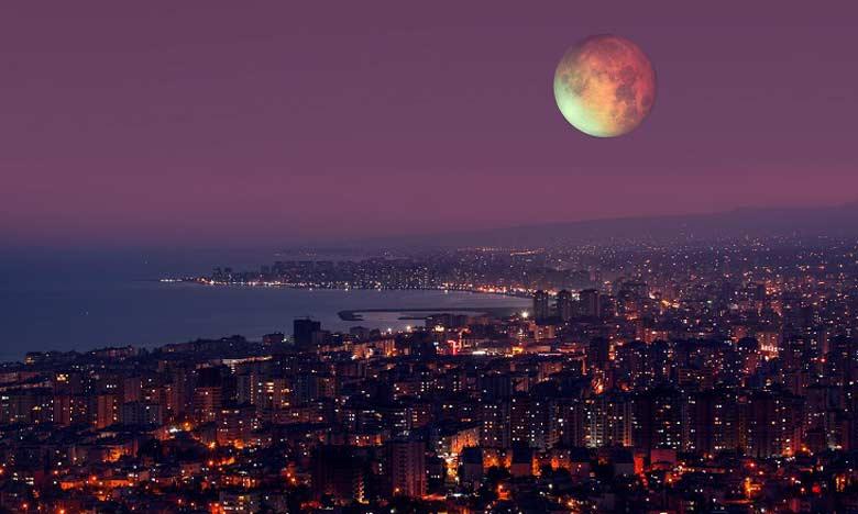 L'éclipse lunaire de vendredi visible au Maroc