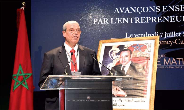 M. Mohammed Haïtami, PDG du Groupe Le Matin, ouvrant les travaux de l'édition 2017 du Morocco Today Forum (MTF 2017).