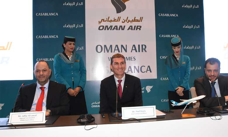 Selon le management, «les voyageurs en provenance du Maroc pourront profiter des connexions d'Oman Air via son hub, l'aéroport international de Mascate, vers un large éventail de destinations à travers le monde». Ph. Saouri