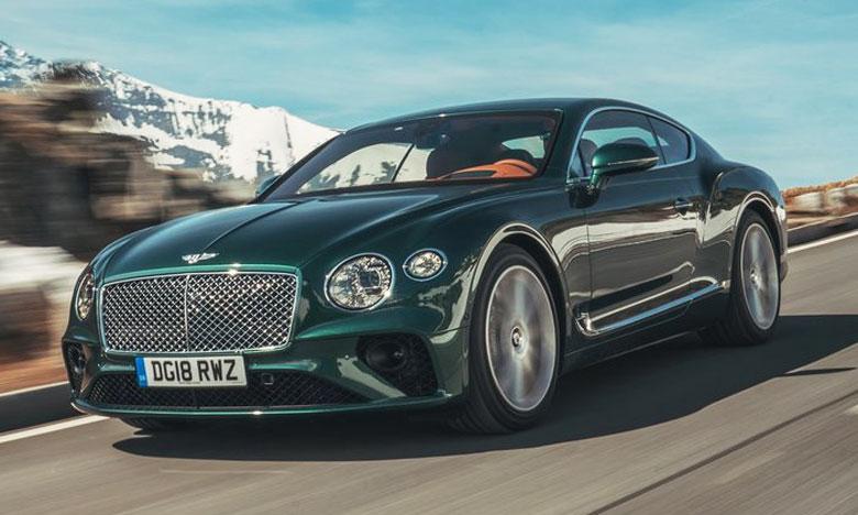 Le design extérieur de la nouvelle Continental GT s'appuie sur une vision audacieuse et innovante, caractéristique des partis pris stylistiques de Bentley.