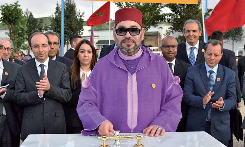S.M. le Roi Mohammed VI avait procédé, le 24 mai 2018 à Casablanca, au lancement des travaux de construction d'un Centre de soins de santé primaires, qui sera réalisé par la Fondation Mohammed V pour la solidarité pour un coût global de 6 millions de dirhams. Ph. MAP