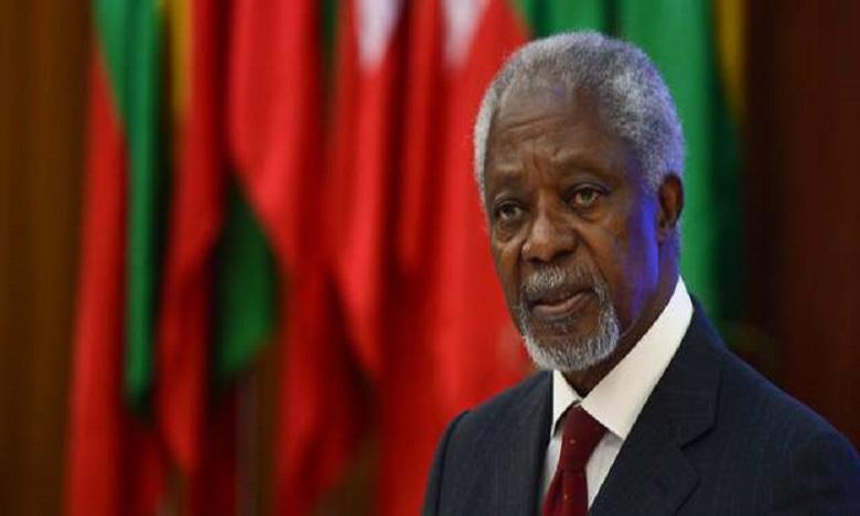 Kofi Annan, l'ancien SG de l'ONU, est décédé