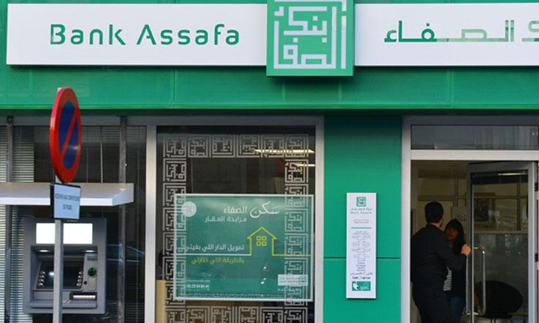 Bank Assafa dispose d'un réseau de 31 agences réparties dans 17 villes. D'ici 2021, la banque participative ambitionne d'atteindre une centaine d'agences.