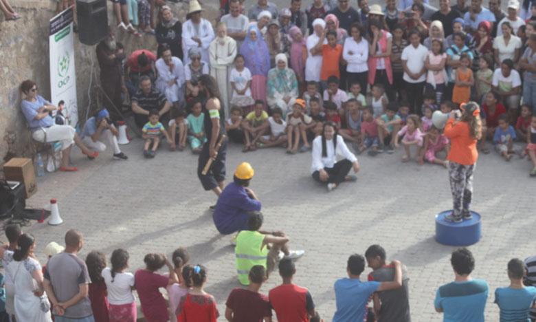 À Bab Al Bahr (Cité portugaise), le public retrouvera, le 12 août à 19h, le théâtre de rue avec «Azaliyate chef A'antara».