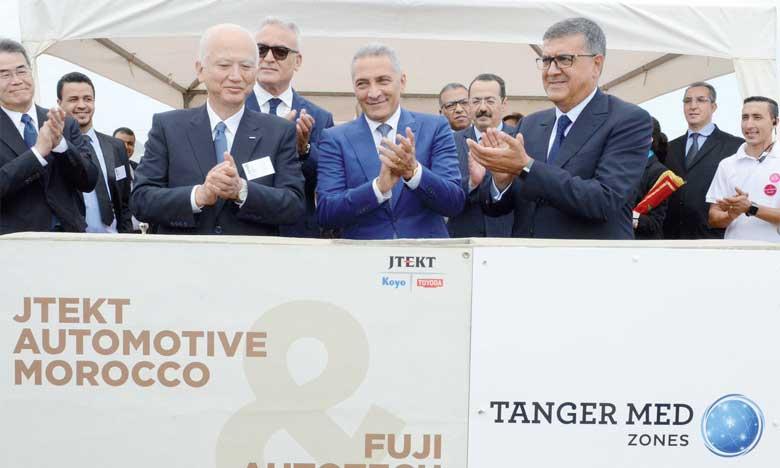 L'usine tangéroise du japonais JTEKT démarrera en 2020