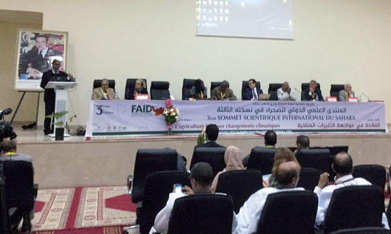 La question de la valorisation de l'agriculture dans les zones arides et désertiques  a été le sujet phare des débats.