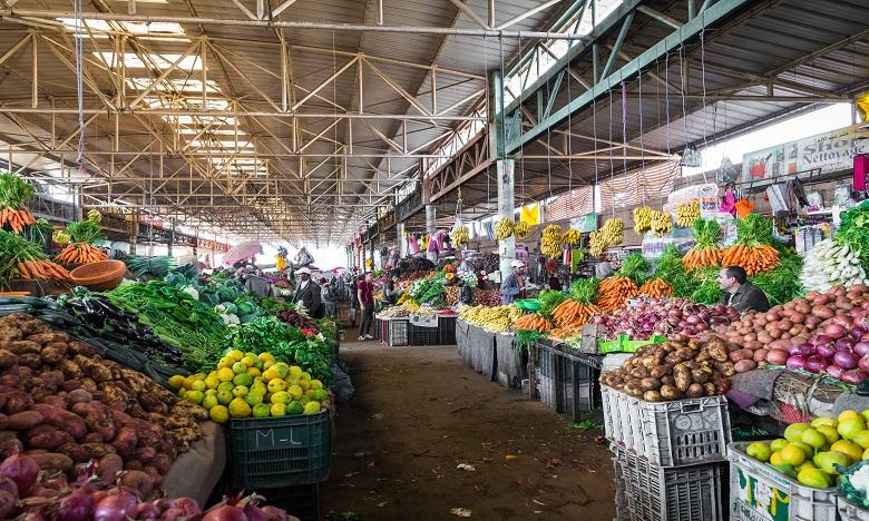 Les produits alimentaires ont vu leur prix flamber de 2,5%, selon le Haut commissariat au Plan (HCP). Ph. Shutterstock