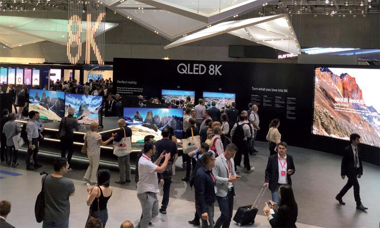 La révolution dans le segment téléviseurs est bien le 8K, soit une définition seize fois plus précise que la Full HD.