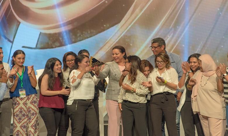 Le prix de la Meilleure Junior Entreprise Etudiante 2017 a été décerné à TITRITE de la Faculté des Sciences Agdal de Rabat. Ph. DR