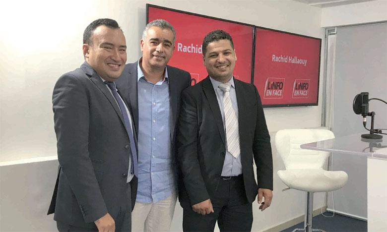 Les invités de L'Info en Face, Adil Diouri, directeur des Études & Communication chez Inforisk, et Mehdi El Fakir, analyste économique.