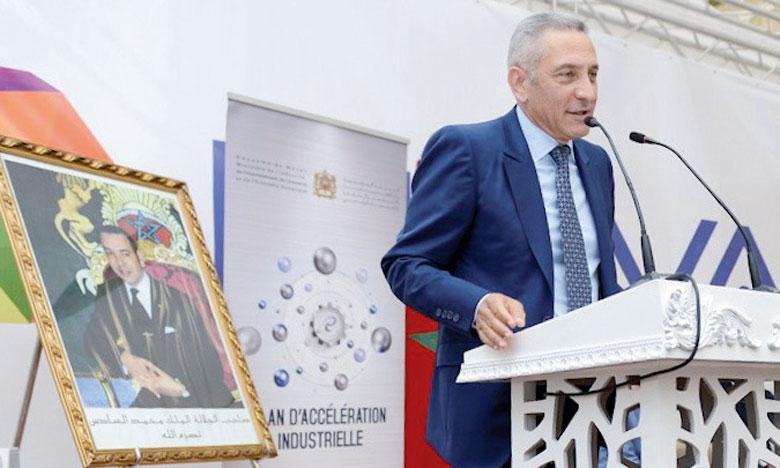 Moulay Hafid Elalamy a présidé la cérémonie de l'inauguration.