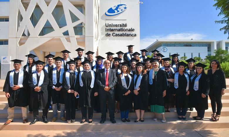 UIC: 1re promotion du  Mastère  en Sciences de l'éducation diplômée