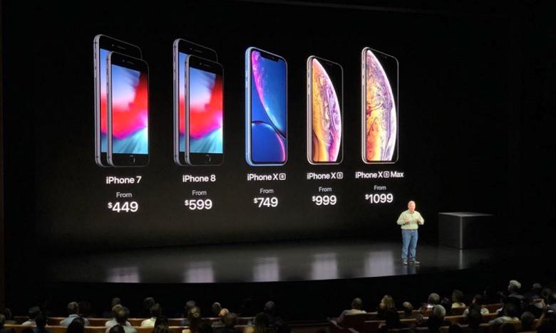 Apple dévoile ses nouveaux modèles Iphone